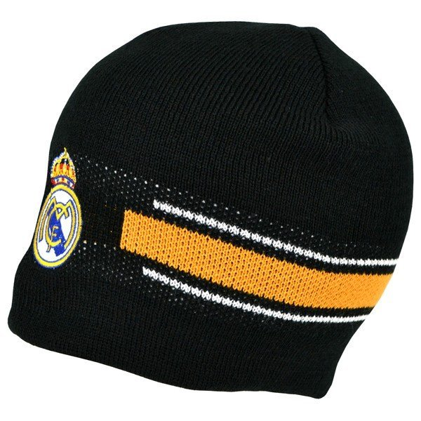 Real Madrid Basic Beanie Hat - Black