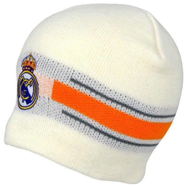 Real Madrid Basic Beanie Hat - White
