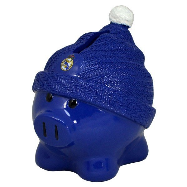 Real Madrid Beanie Piggy Bank