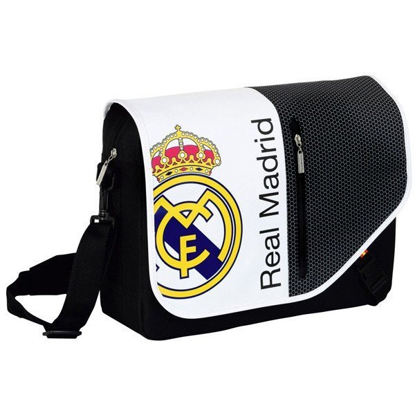 Real Madrid Beehive Laptop Shoulder Bag - 15.6 Inch