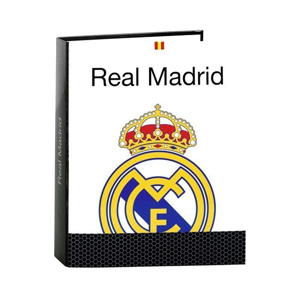 Real Madrid Big Folio A4 Ring Binder - 2PK