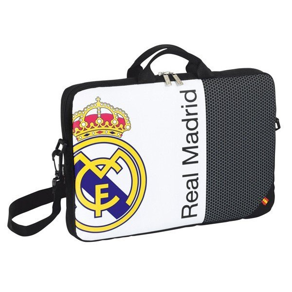 Real Madrid Black Laptop Bag - 15.6 Inch