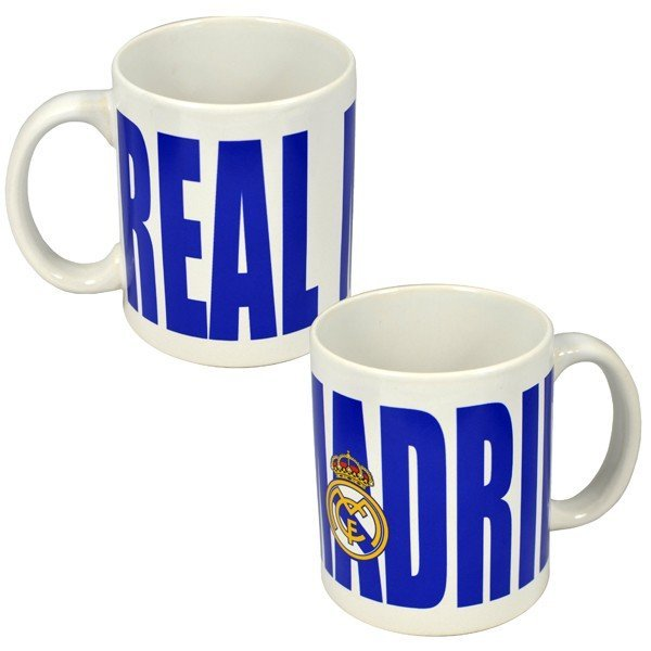 Real Madrid Bold Wordmark 11oz Mug