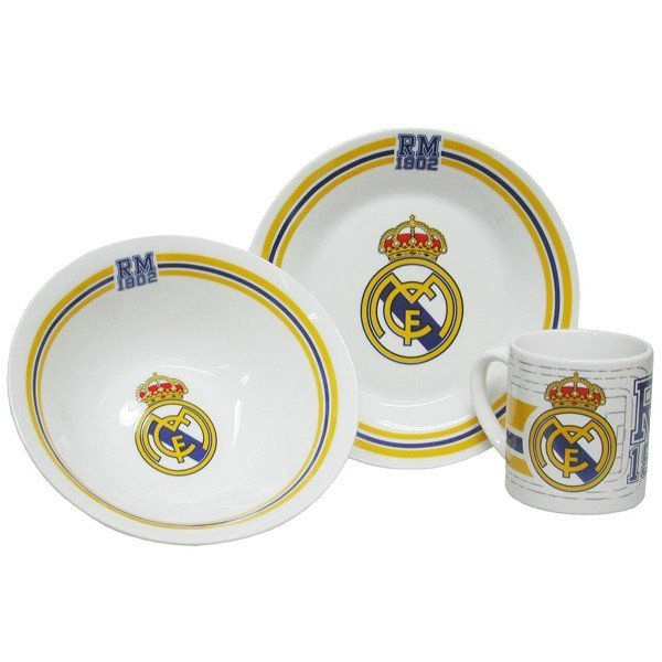 Real Madrid Ceramic Breakfast Set