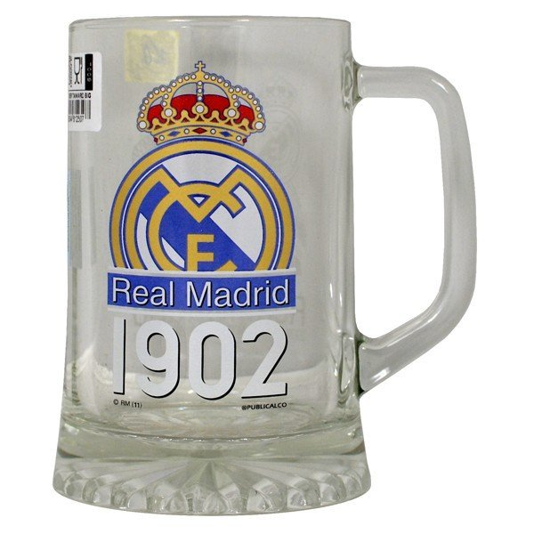 Real Madrid Crest Big Beer Tankard - 1902