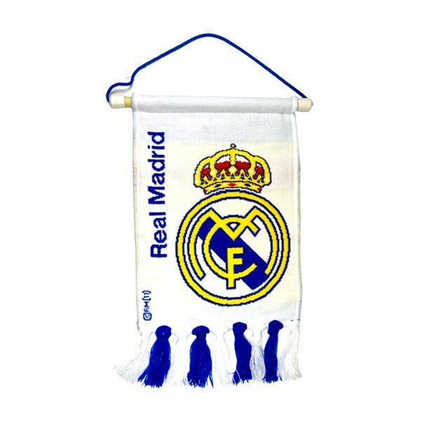 Real Madrid Crest Large Pennant