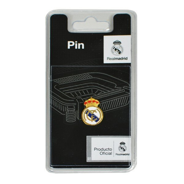 Real Madrid Crest Pin Badge