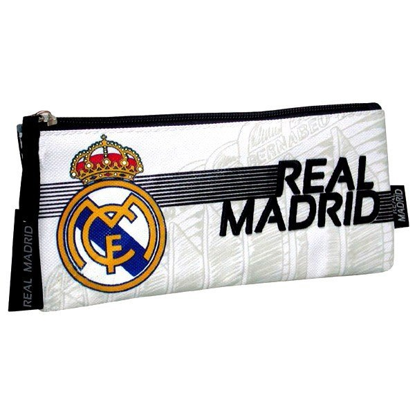 Real Madrid Flat Pencil Case