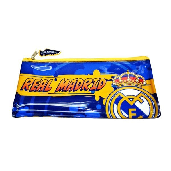 Real Madrid Flat PVC Pencil Case