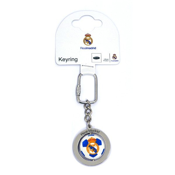 Real Madrid Football Spinner Keyring