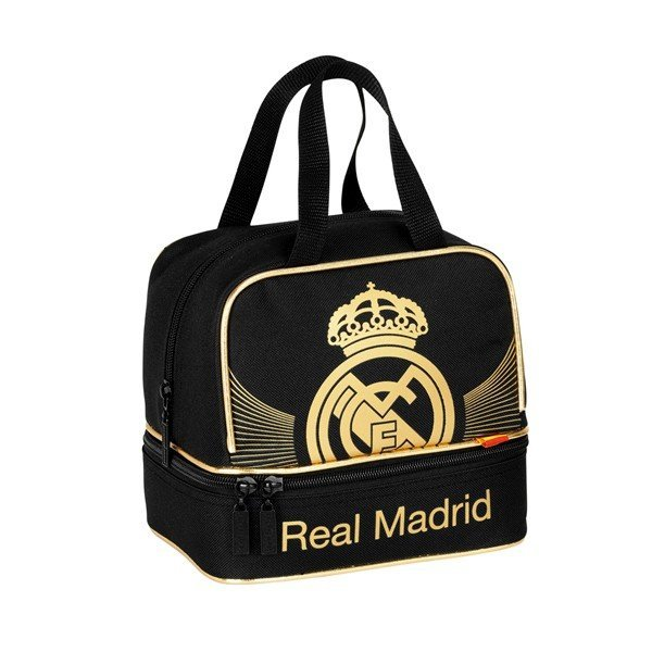 Real Madrid Gold Mini Bag - 20Cms