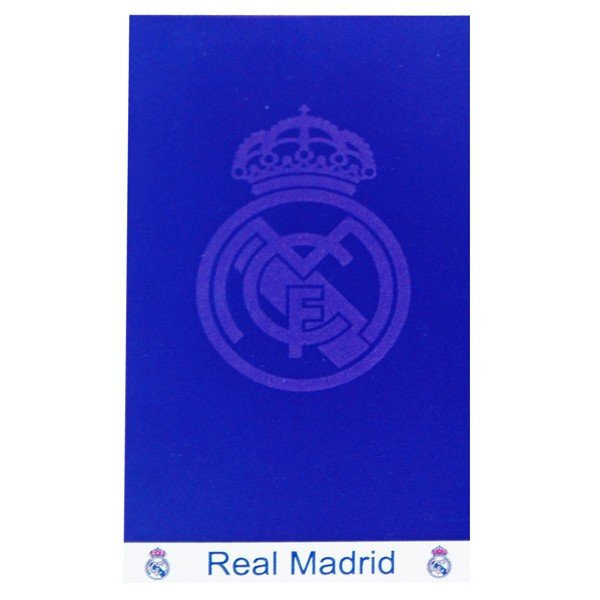 Real Madrid Jacquard Beach Towel - Royal
