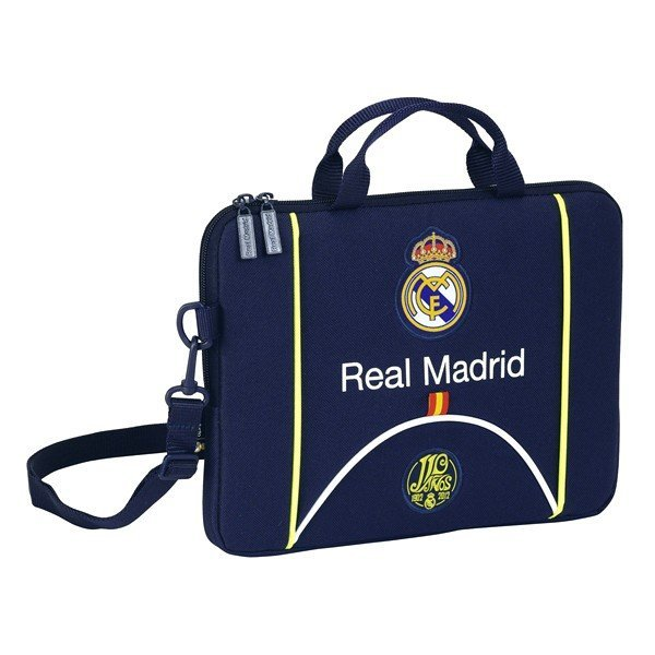 Real Madrid Navy Laptop Bag - 10.6 Inch