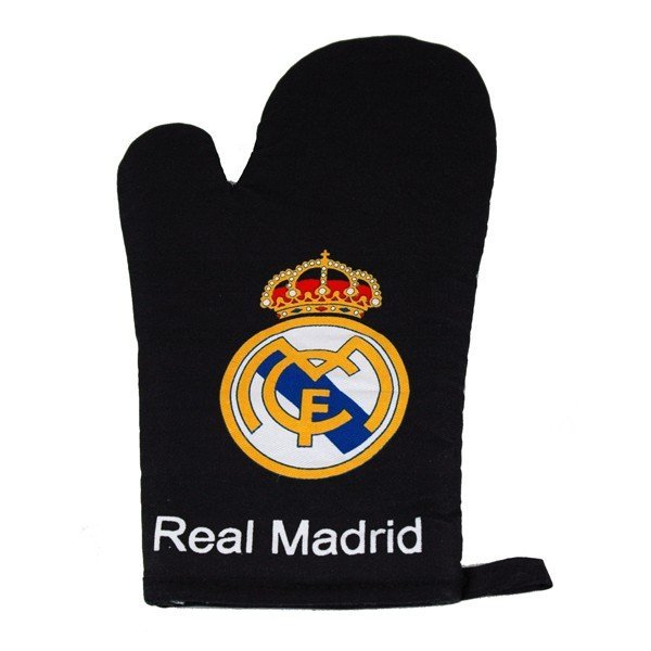 Real Madrid Oven Glove - Black