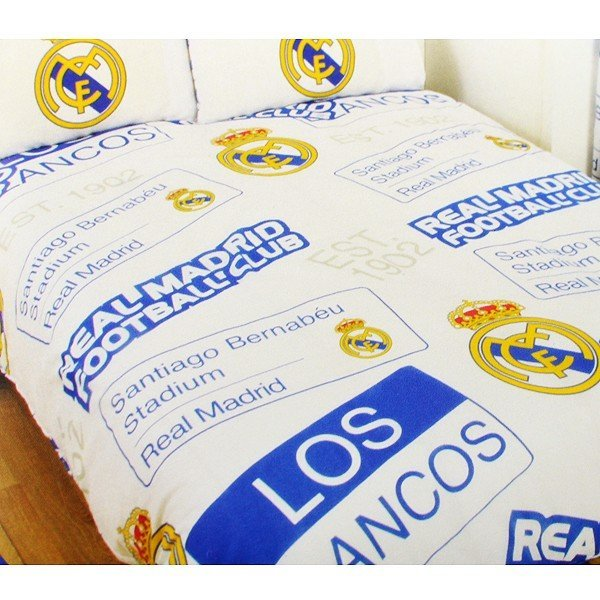 Real Madrid Patch Double Duvet Set