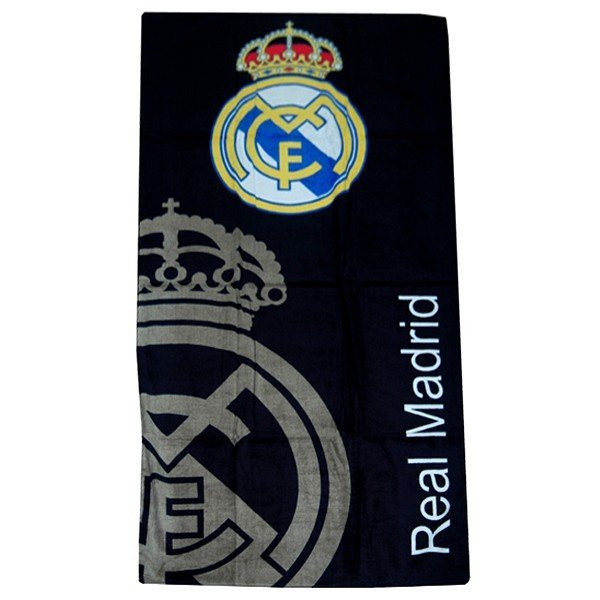 Real Madrid Printed Towel - Navy