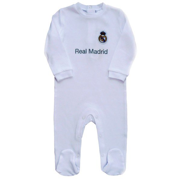 Real Madrid Sleepsuit - 0/3 Months