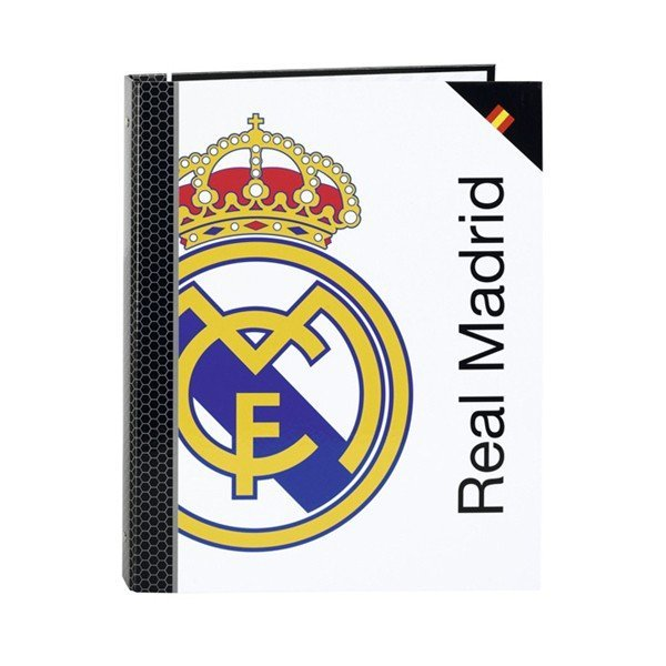 Real Madrid Small Folio A4 Ring Binder - 2PK