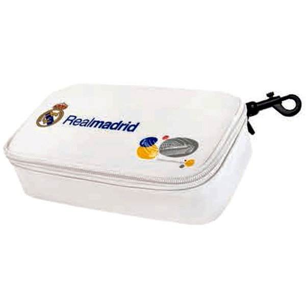 Real Madrid Soft Cover Sandwich Box - White