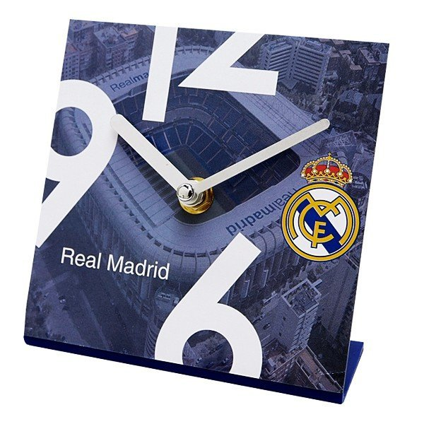 Real Madrid Square Stadium Standing Desk Clock