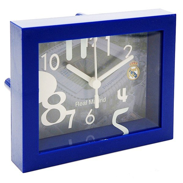 Real Madrid Stadium Framed Desk Clock With Sweep