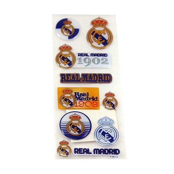 Real Madrid Sticker Set