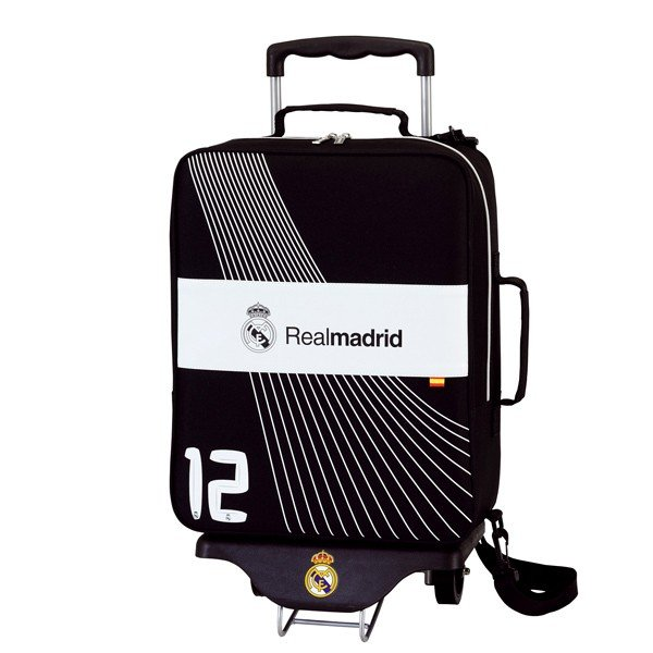 Real Madrid Travel Bag With Trolley
