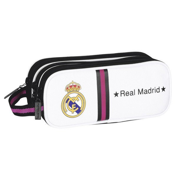 Real Madrid Triple Pencil Case