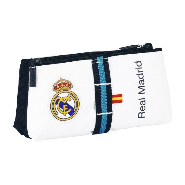 Real Madrid White Double Carrying Case
