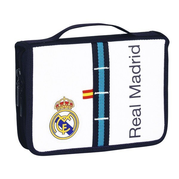 Real Madrid White Drawing Case - 34 Pcs