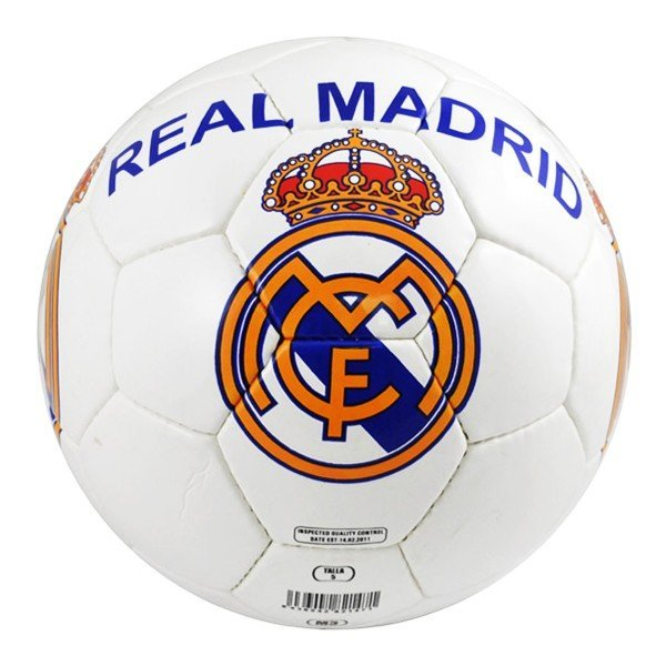 Real Madrid White Football - Size 5