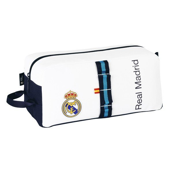Real Madrid White Shoe Bag