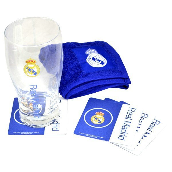 Real Madrid Wordmark Mini Bar Set