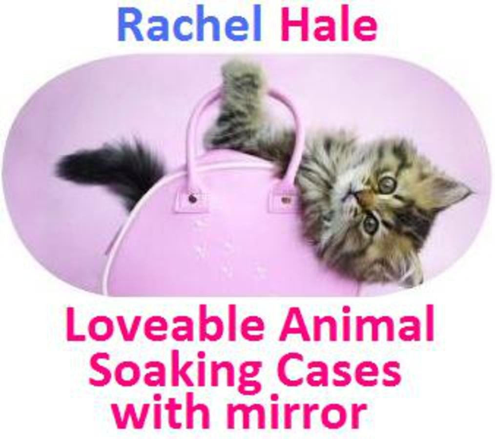 Kitten In a Bag Rachel Hale Contact Lens Soaking Case
