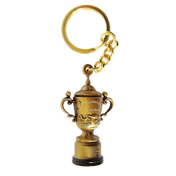 Rugby World Cup 2015 Webb Ellis Trophy Keyring