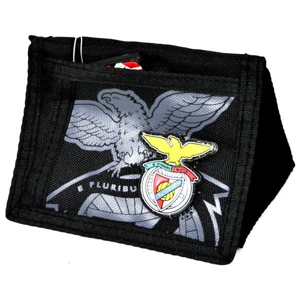 S.L. Benfica Black Wallet
