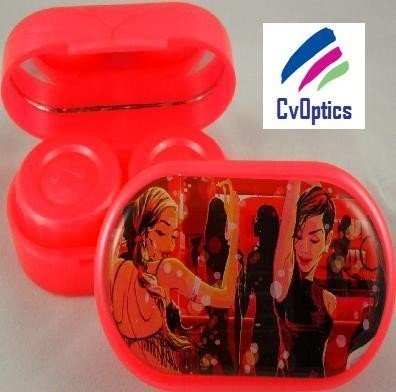 Disco Divas Gavin Reece Contact Lens Soaking Case