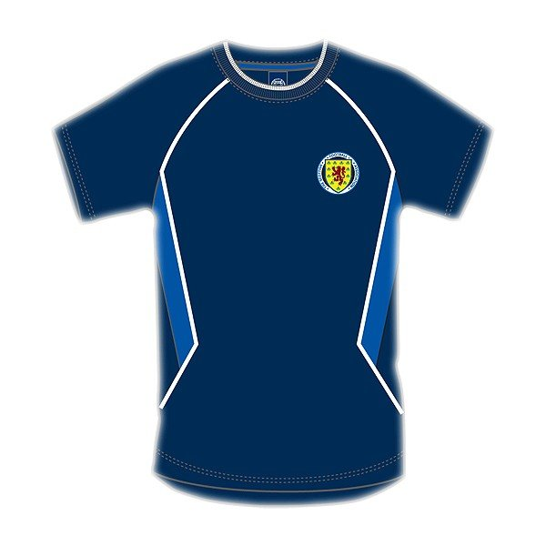 Scotland Navy Panel Mens T-Shirt - S