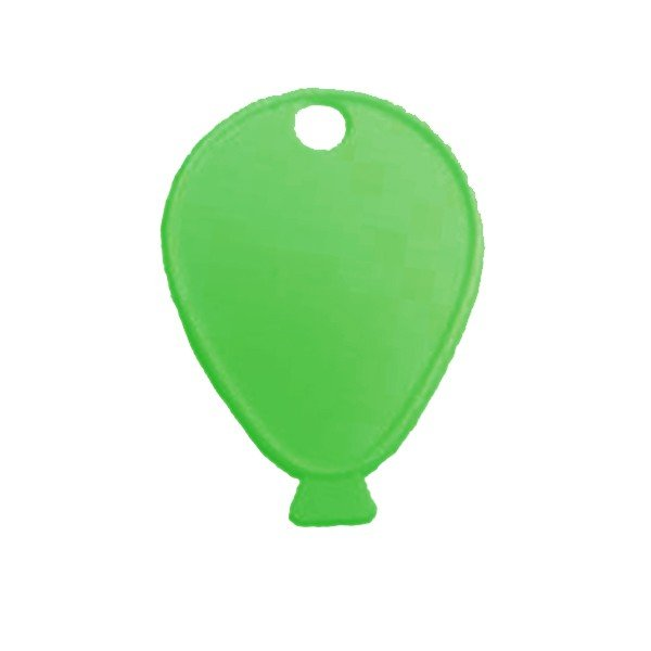 Sear Plastic Balloon Weight - Green