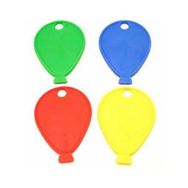 Sear Plastic Balloon Weight - Primary Colours