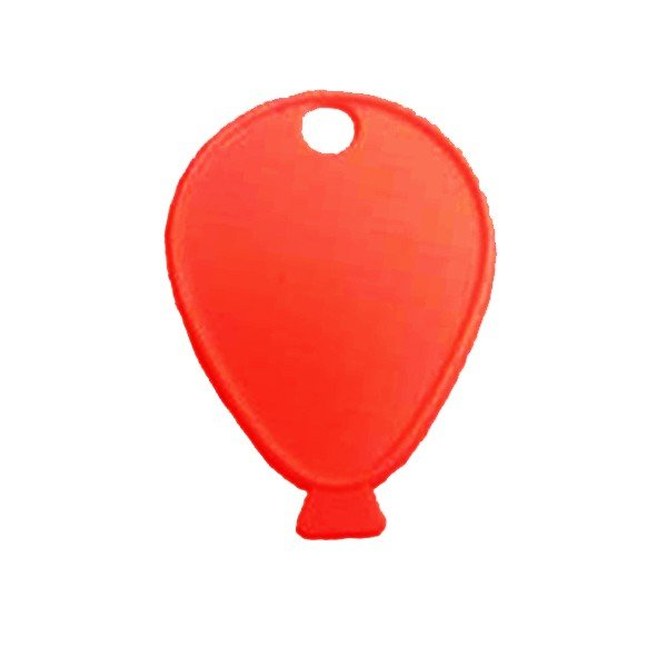 Sear Plastic Balloon Weight - Red