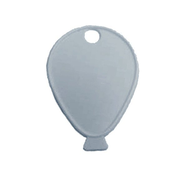 Sear Plastic Balloon Weight - Silver