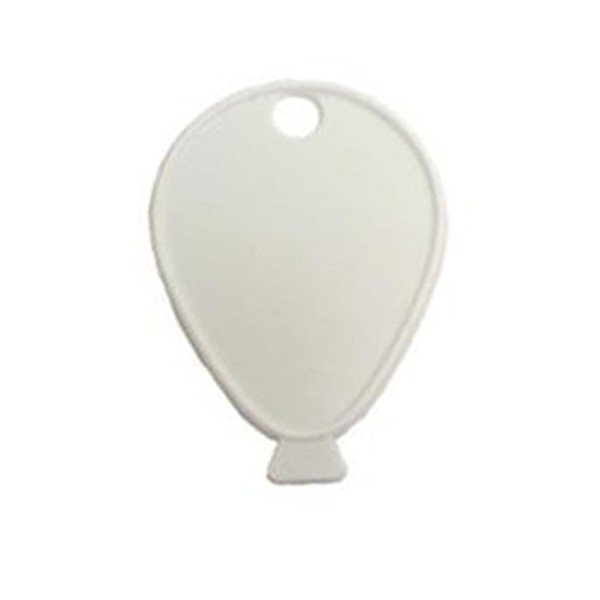 Sear Plastic Balloon Weight - White