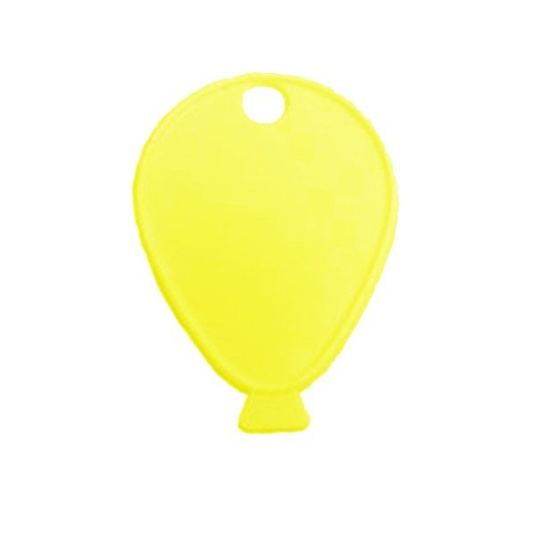 Sear Plastic Balloon Weight - Yellow