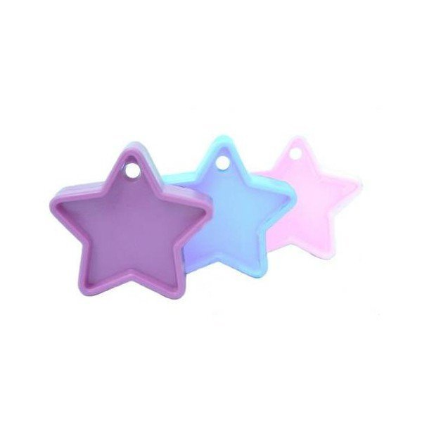 Sear Plastic Star Balloon Weight - Pastel