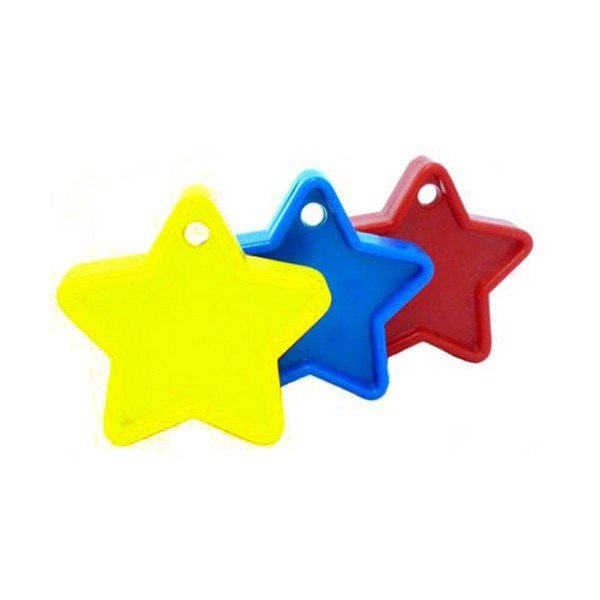 Sear Plastic Star Balloon Weight - Primary