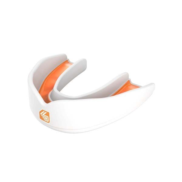 Shock Doctor Ultra Rugby Mouthguard White Orange