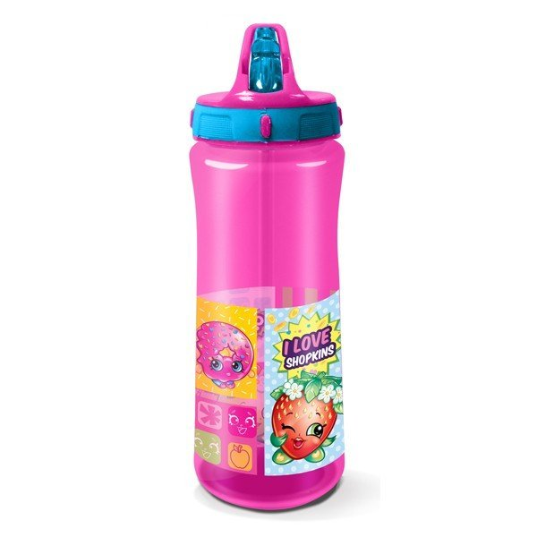 Shopkins Europa Plastic Water Bottle