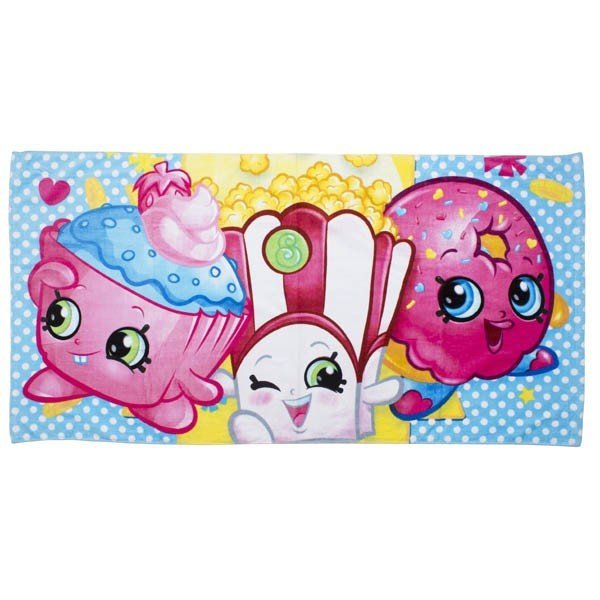Shopkins Shopaholic Towel