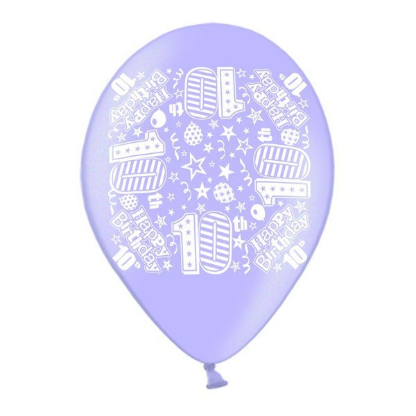 Simon Elvin 10 Inch Latex Balloon - Age 10